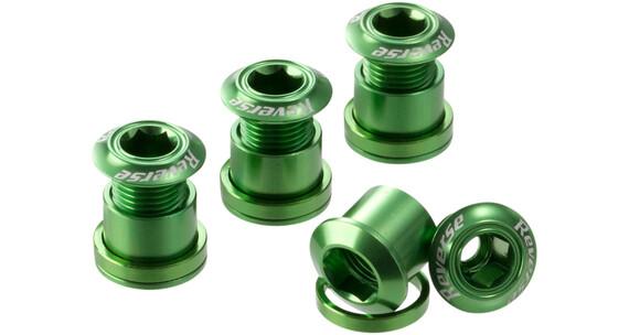 Reverse Kettenblattschrauben grün
